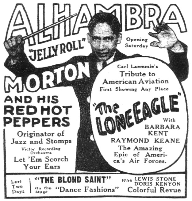 jelly roll morton iconography library