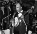 Danny Barker at an unknown venue, Washington, DC. c. 1957 - courtesy of Harold Hopkins