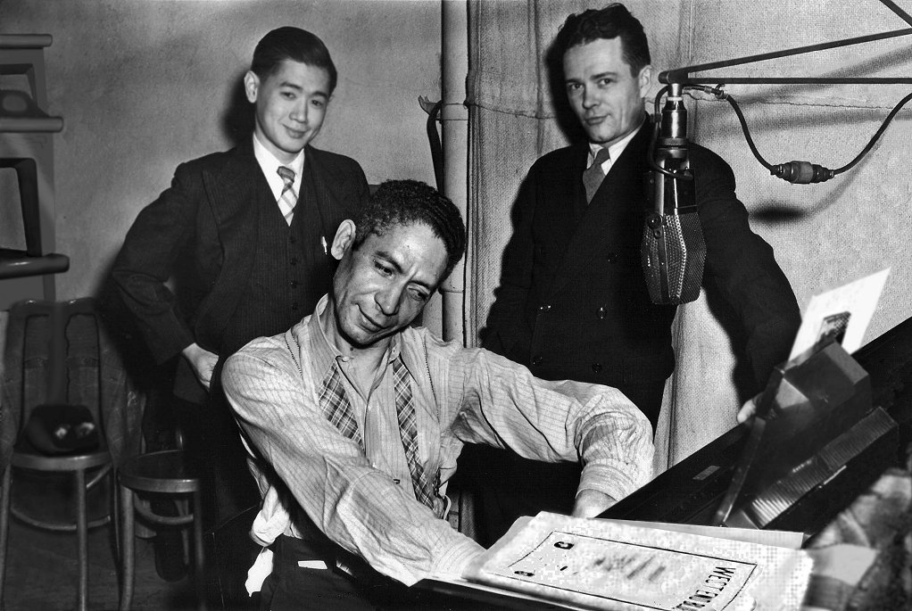 jelly roll morton harry lim and steve smith new york 1939