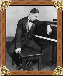 Jelly Roll Morton - click to view enlarged photograph
