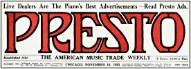 Presto : The American Music Trade Weekly